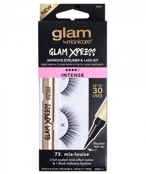 """Does your bestie love a dramatic eye? Why not spoil her with the ultimate eyeliner and lash kit by Manicare? Each kit comes with an all-in-one eyeliner with lash adhesive and Mink Effect lashes. Date night makeup never looked so good! <br> <br>  *NEW Glam By Manicare® Glam Xpress Black Adhesive Eyeliner & Lash Kits for INSTANT lash application, [$34.99, shop it here*](https://www.chemistwarehouse.com.au/shop-online/3046/glam-by-manicare