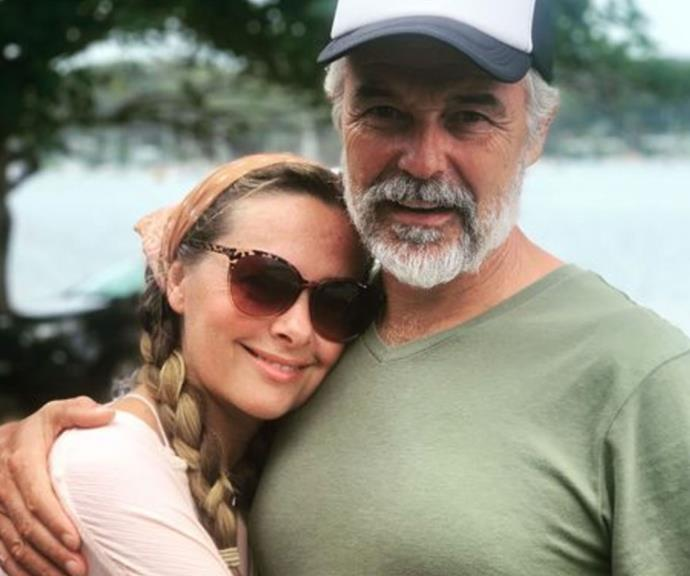 "Not to be outdone, Ali was quick to share her own heartfelt tribute to her man.  <br><br> ""Something about this photo speaks to the years we have spent and the love that's endured. There is so much comfort and safety in your arms. Thankyou for being my one and only. Love you so,"" she said."