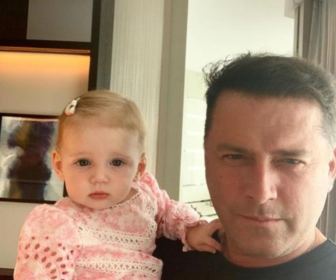 "Jasmine Stefanovic shared this heart-melting new snap of her ""loves"" - daughter Harper and husband Karl Stefanovic."