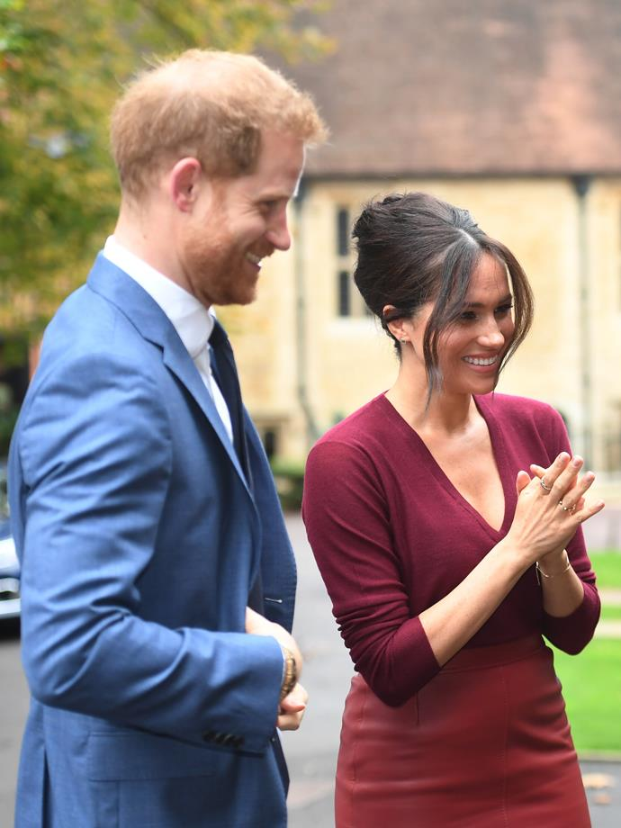 Meghan and Harry will give a tell-all interview to their friend and iconic TV presenter, Oprah Winfrey.