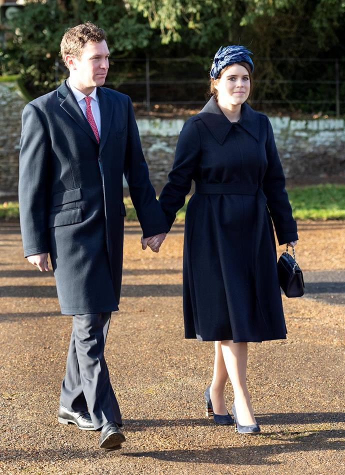 Eugenie and husband Jack Brooksbank are expected to announce the name they've picked for their son in the coming days.