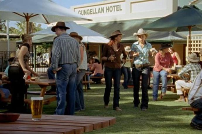 You can actually go the Gungellan Hotel for a feed! It just goes by a different name.