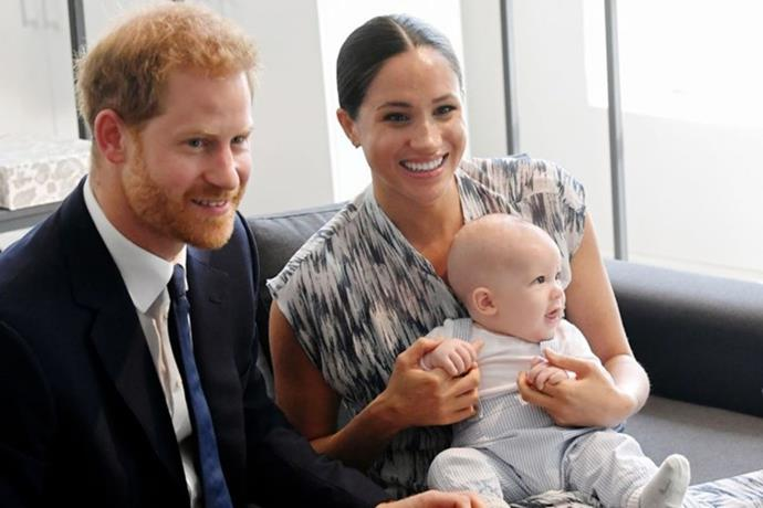 Archie was born at London's Portland Hospital but is a citizen of both the UK and the US.
