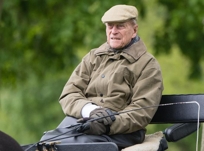 Prince Philip will remain in hospital for observation and rest.