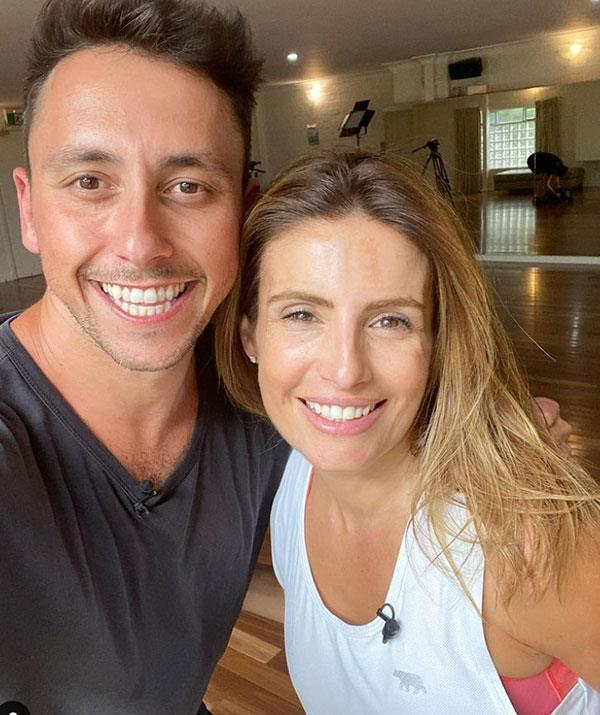 No rest for the wicked! Ada and her dance partner Aric Yegudkin are already back at rehearsals for the upcoming season.