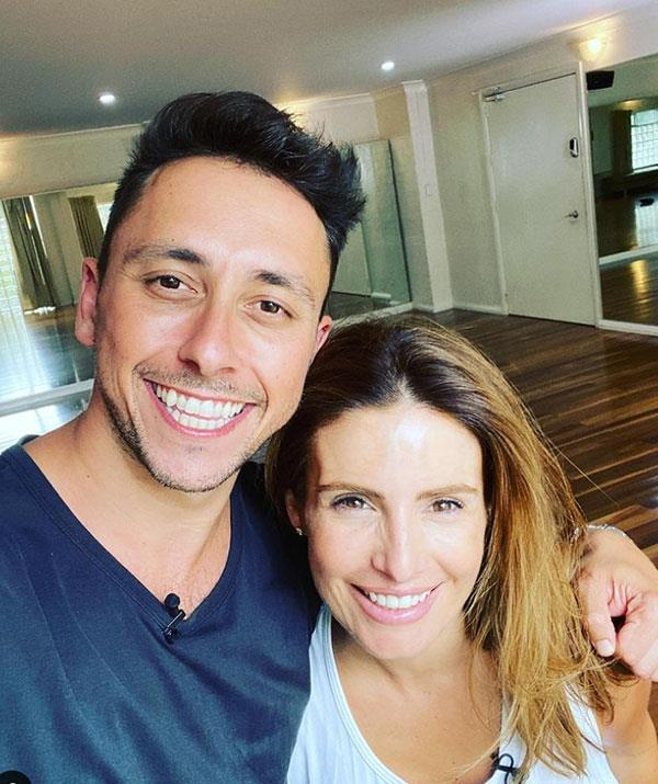 """''First sesh back with this one @adanicodemou @dancingau @channel7."""""""