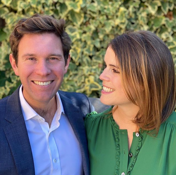 Eugenie and Jack welcomed their baby son on February 9.