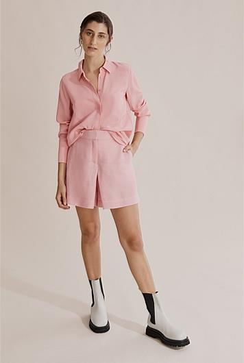 """Country Road Button Through Shirt, $159. **[Buy it online here](https://www.countryroad.com.au/Product/60264923-994/?colour=Powder-Pink