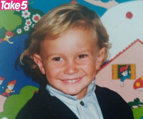 Murray at three years old.
