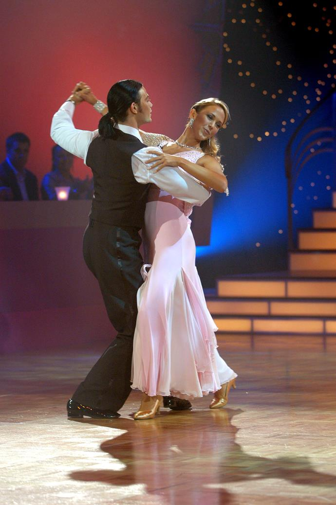 Bec and Michael in action on DWTS 2004