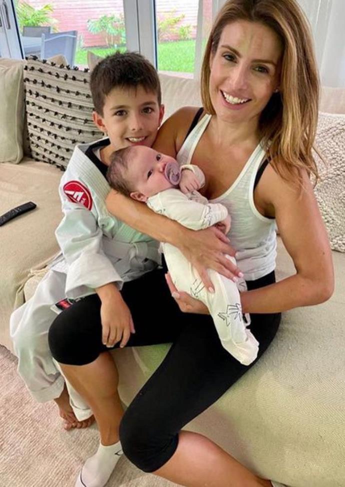 Ada's son Johnas meets his new cousin Sofia.