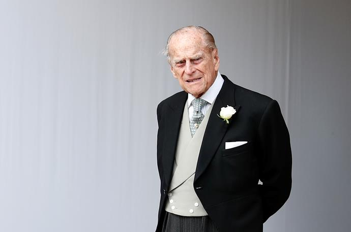 Prince Philip remains in hospital.