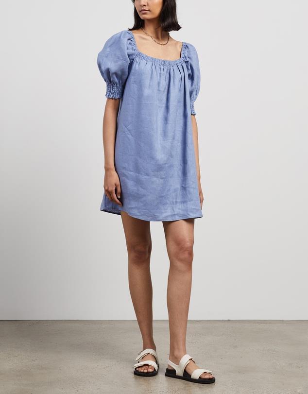 "Aere Mini Smock Dress, $119. **[Buy it online here](https://www.theiconic.com.au/mini-smock-dress-1154388.html target=""_blank"" rel=""nofollow"")**"