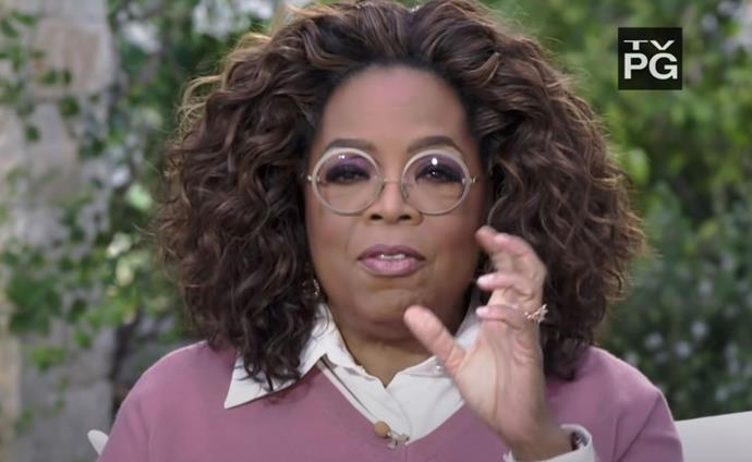 """""""Were you silent or were you silenced?"""" Oprah asks Meghan."""