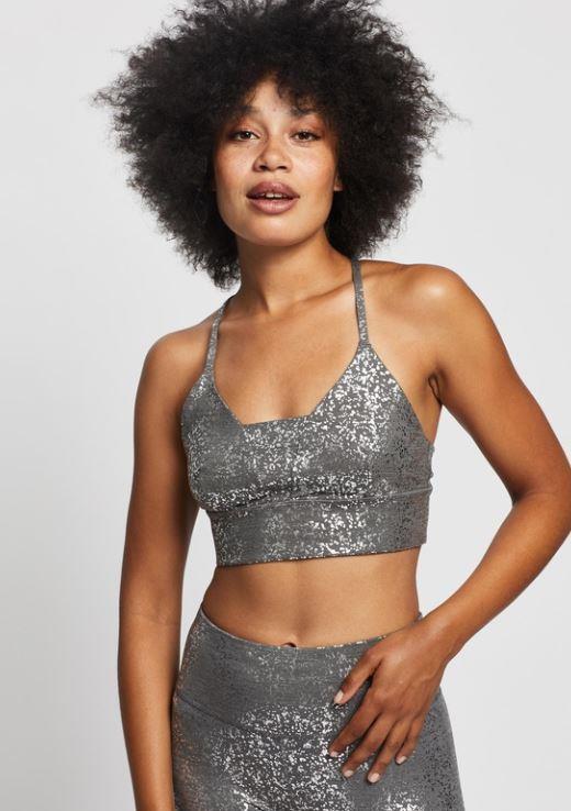 "Activewear meets Mardi Gras in this disco metallic bra from Sweaty Betty, $90. **[Buy it online here](https://www.theiconic.com.au/disco-metallic-bra-1135231.html|target=""_blank""|rel=""nofollow"")**"
