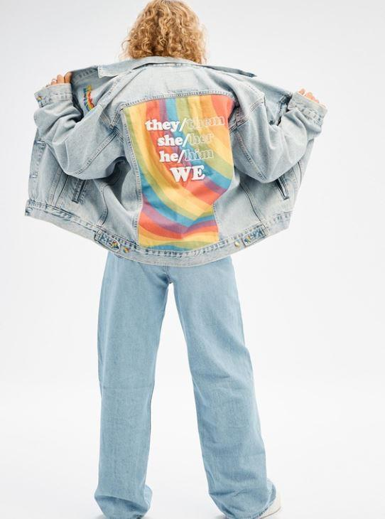 """You can't go wrong with an oversized denim jacket - and especially this Levi's special edition liberation trucker, $199.95. **[Buy it online here](https://www.theiconic.com.au/liberation-trucker-1205013.html