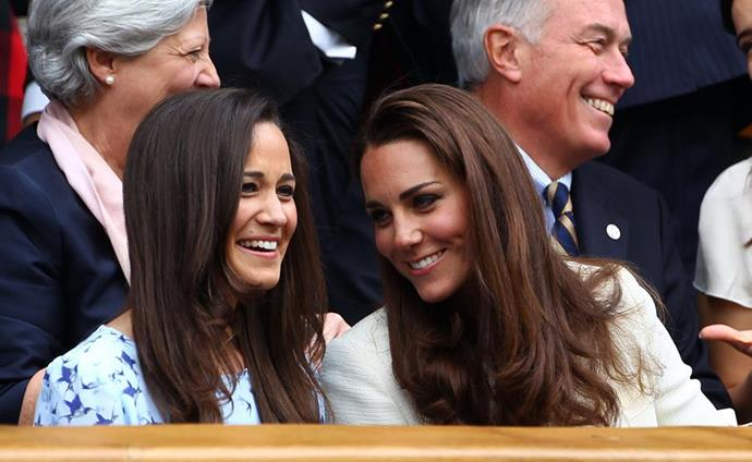 Pippa, Kate and their clan of Middleton's remain close as ever.