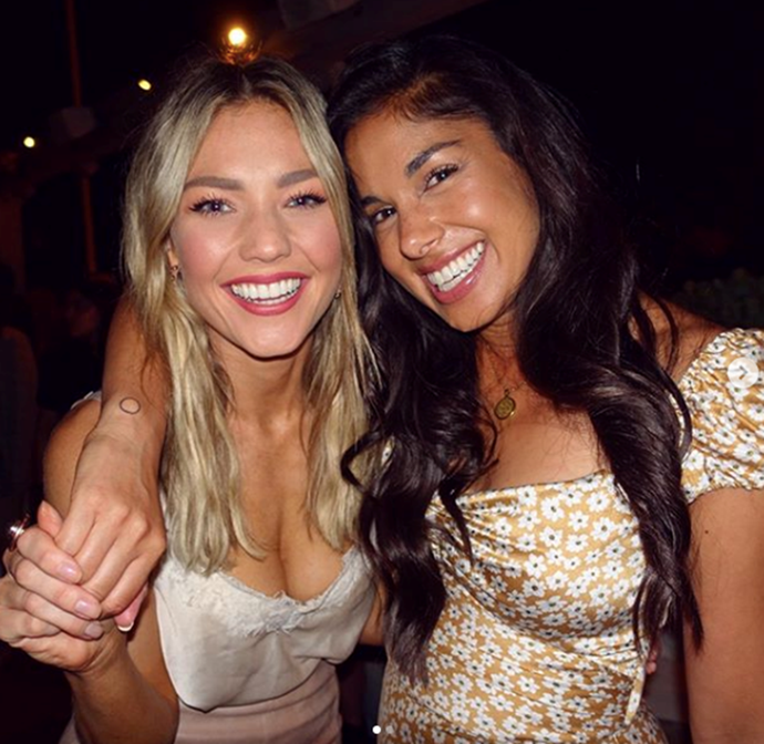 Jasmine and Willow forever: Sam Frost and Sarah Roberts are besties on-screen, and in real life.
