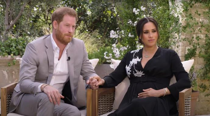 Meghan and Harry speak out about their own experience in the Palace during a tell-all interview with Oprah Winfrey.