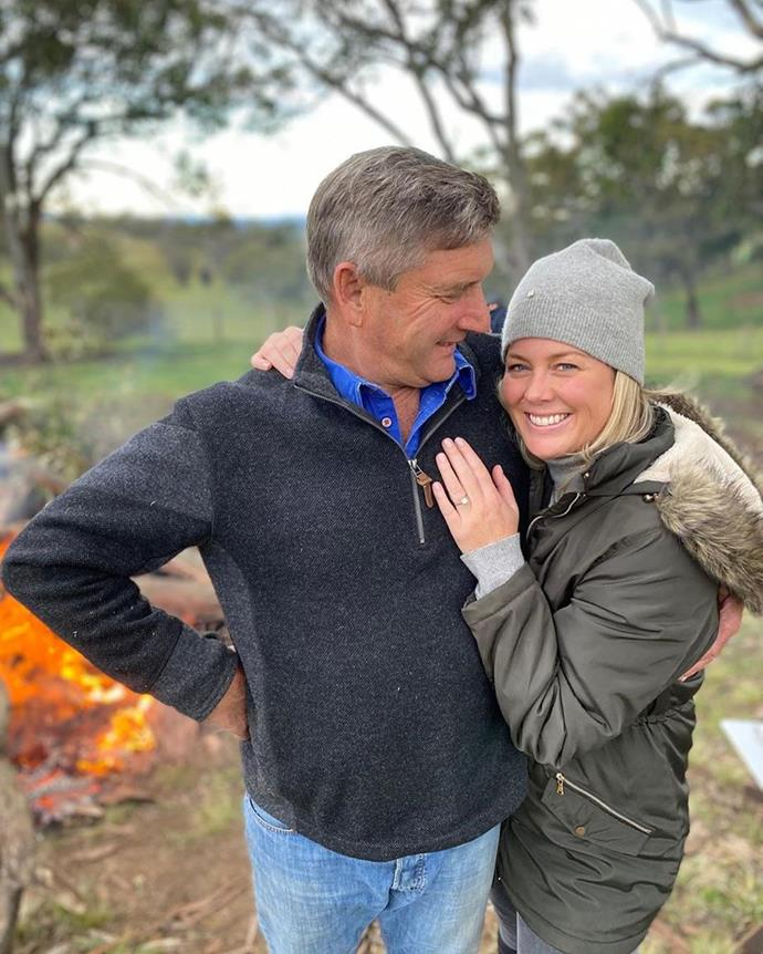 Sam and Richard, who tied the knot on NYE last year, both have sprawling properties in the Southern Highlands.