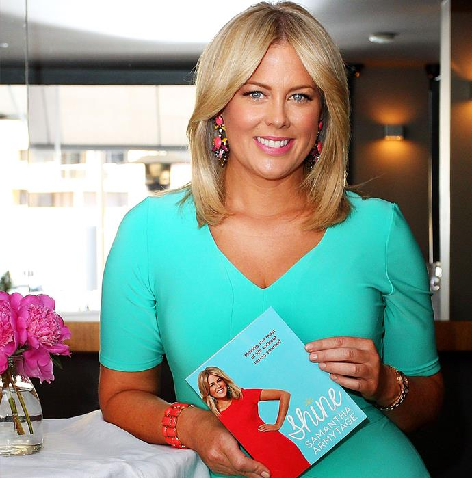 If Sam were to pen a tell-all book about her time on *Sunrise* it would no doubt be an overnight best-seller.