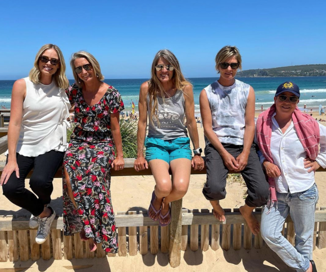 """**Sylvia Jeffreys**<br><br>  Sylvia Jeffreys is bringing girl power to our screens with a special episode of *A Current Affair* with the """"awesome, inspiring women who took on the brutal, macho world of pro surfing in the 80s and 90s."""""""