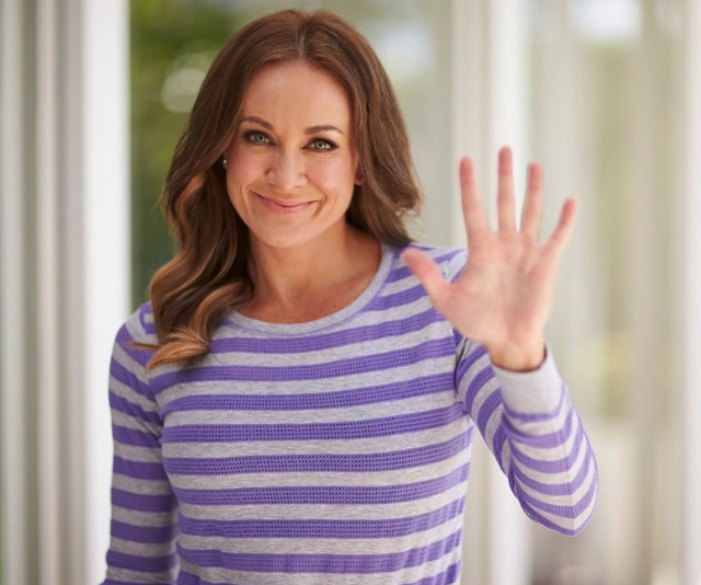 """**Michelle Bridges**<br><br>  """"She is strong. She is passionate. She is emotional. She is brave. She is WOMAN,"""" Michelle wrote to which we can be heard cheering: Yes she is!"""