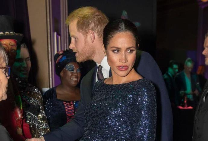 Meghan confided in Harry before having to attend a royal event.
