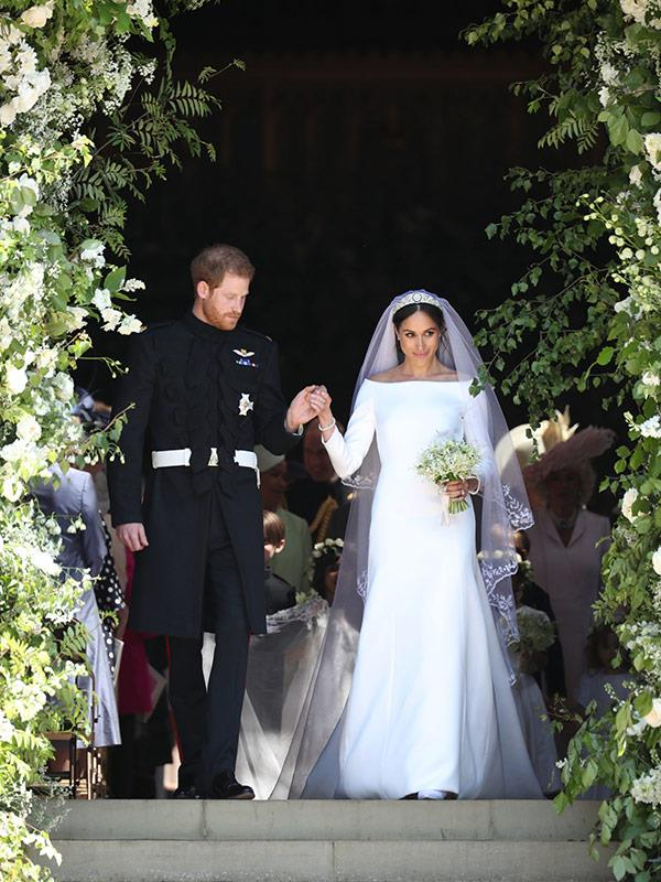 Meghan and Harry were secretly wed three days before their royal wedding in May 2018.