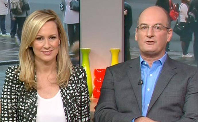 Mel Doyle (pictured with former Sunrise co-host David Koch) has weighed in on Sam Armytage's exit.
