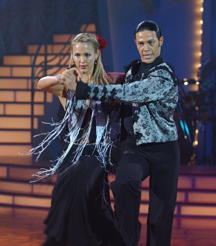 It's been 16 years since Bec's DWTS appearance.