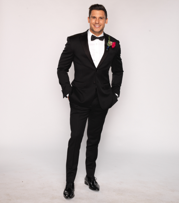 """**Johnny, 30, QLD** <br><br> """"Outgoing, good looking and a romantic at heart, Johnny is a theatre producer from Brisbane who is on the search to meet Miss Right.  30 and already divorced, Johnny's heart was broken when his first marriage fell apart. He's had his walls up since then and has been extremely picky on who he dates."""""""