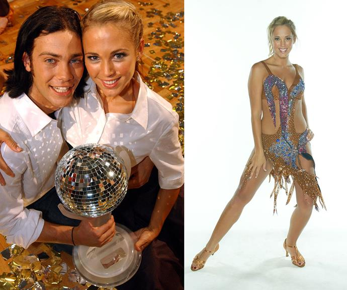 Bec and her dance partner Michael Mizner were the season one champs.