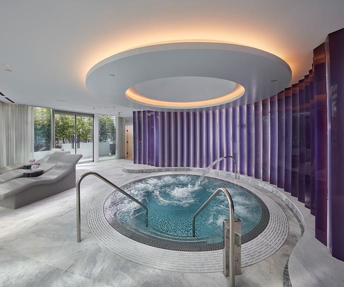 Make sure you book a treatment at the the Crown Spa.