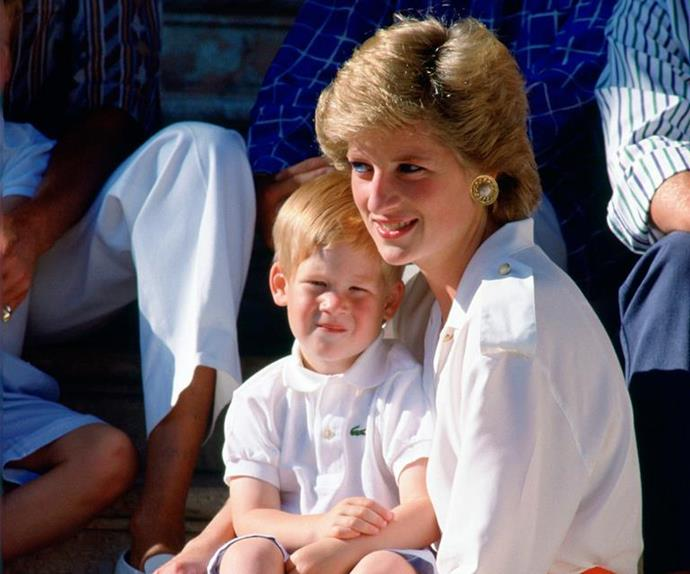 Prince Harry shared a beautiful tribute for his mother Diana.