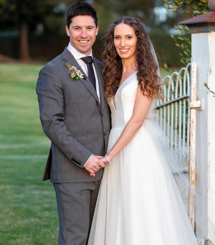"""**Patrick & Belinda - Hopeful**<br><br>   Never-had-a-boyfriend Belinda and unlucky-in-love Patrick made a surprisingly perfect match on the night of their nuptials.<br><br>   In pics [obtained by *The Wash*](https://thewash.online/reality-check/married-at-first-sight/married-at-first-sights-patrick-dwyer-is-a-bit-different-irl-these-days/