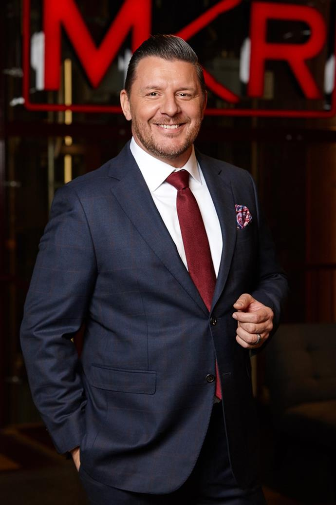 **Manu Feildel** <br><br> He's known for slicing up an onion like it's the easiest thing in the world on *My Kitchen Rules* - but slicing up a dance floor? Well, you might be surprised. After winning the comp in 2011, Manu is returning for round two - bring it on!
