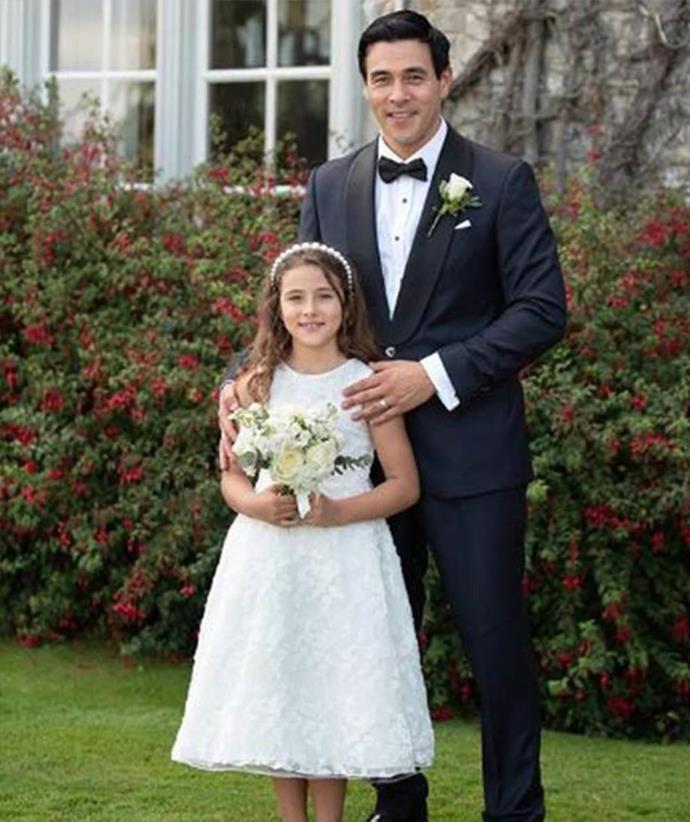 James adores his daughter.