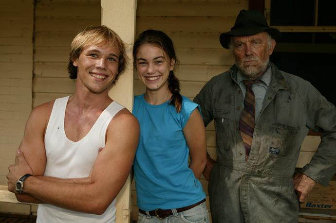 Geoff and Annie (played by Charlotte Best) grew up on their uncle's quiet rural farm, where they were home schooled under his stern watch.