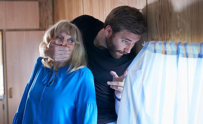 Kieran's presence shocks Martha.