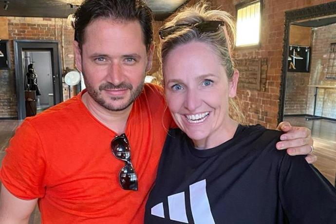 Fifi with her *DWTS* dance partner, Jeremy Garner.