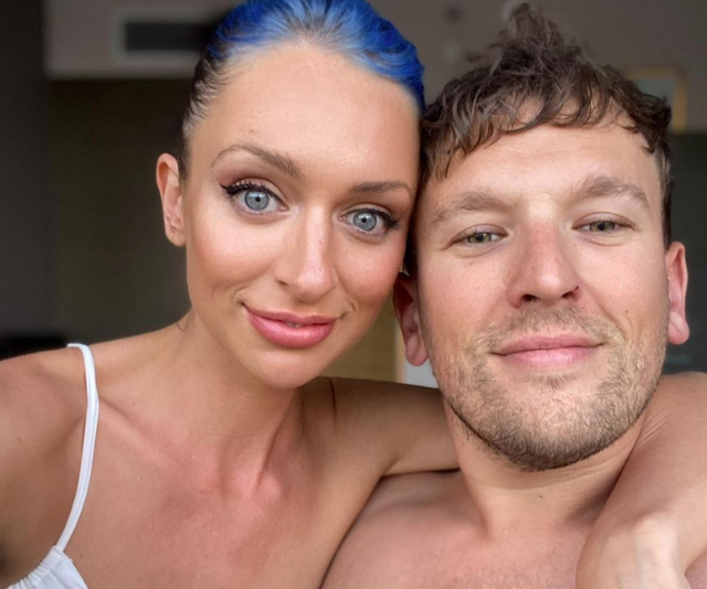 Chantelle, pictured with boyfriend Dylan Alcott, is a renowned sexologist.