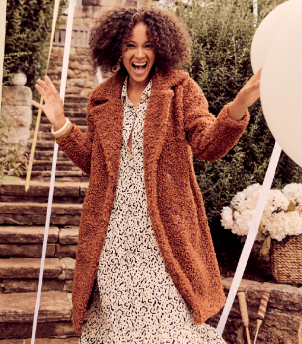 "[Big W Teddy bear coat, $40](https://www.bigw.com.au/product/avella-women-s-shearling-coat-rust/p/1300708-dkbrown/|target=""_blank"")"