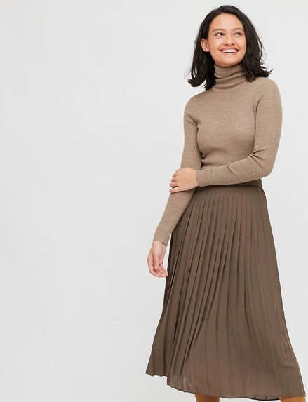 """Uniqlo Extra Fine Merino Ribbed Turtleneck Sweater, $49.90. **[Buy it online here](https://www.uniqlo.com/au/en/products/E428860-000?colorCode=COL31&sizeCode=SMA004