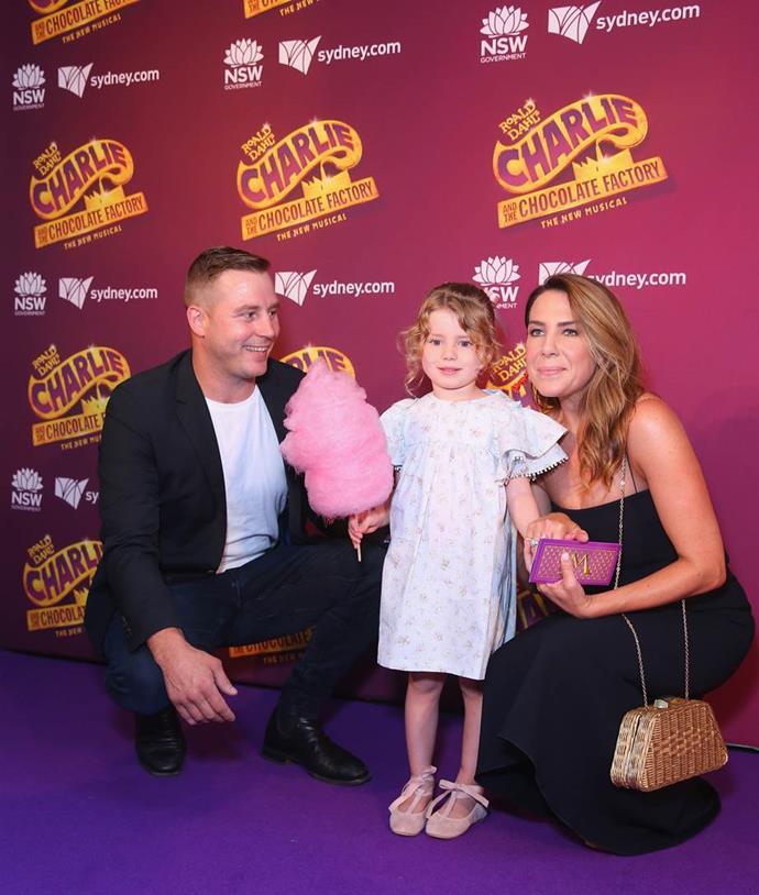 Kate shares Mae with her estranged husband and former NRL player Stuart Webb.