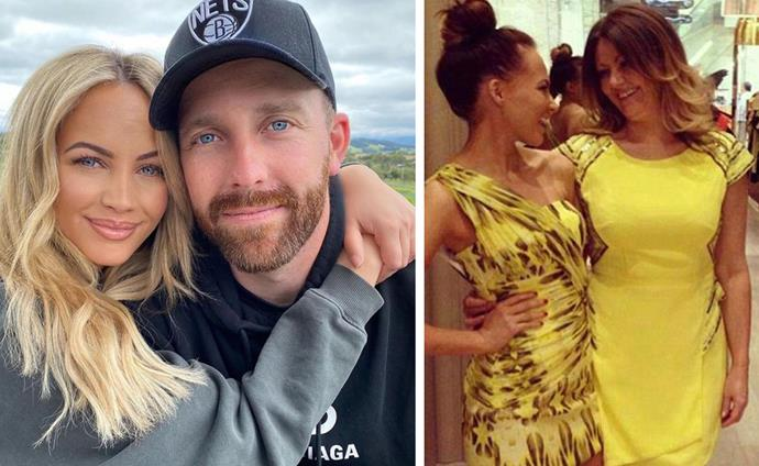 Gone but never forgotten: As Samantha Jade prepares to marry Pat Handlin, the star is making sure her late mother (R) will be close to her heart on her big day.