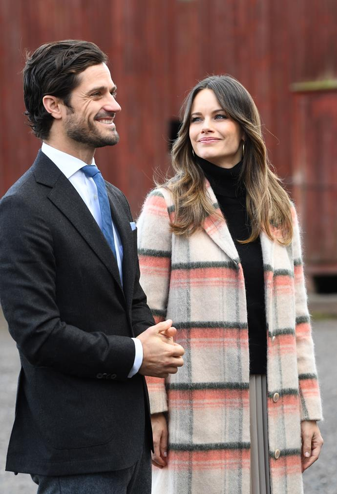 Princess Sofia and Prince Carl Philip have welcomed a baby son.