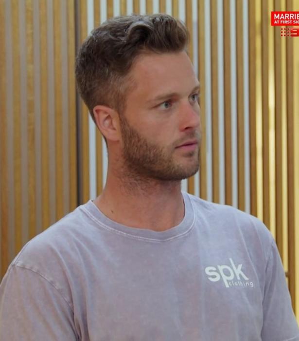 Jake is regularly sporting an SPK shirt.