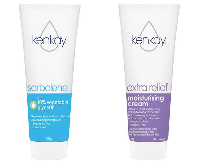 "Kenkay Sorbolene Cream with 10% Vegetable Glycerin, $ 3.35 at [Pharmacy Online](https://www.pharmacyonline.com.au/kenkay-dermatological-extra-relief-cream-100g|target=""_blank""|rel=""nofollow""); Kenkay Extra Relief Moisturising Cream, $ 9.95 at [Pharmacy Online](https://www.pharmacyonline.com.au/kenkay-dermatological-extra-relief-cream-100g|target=""_blank""|rel=""nofollow"")."
