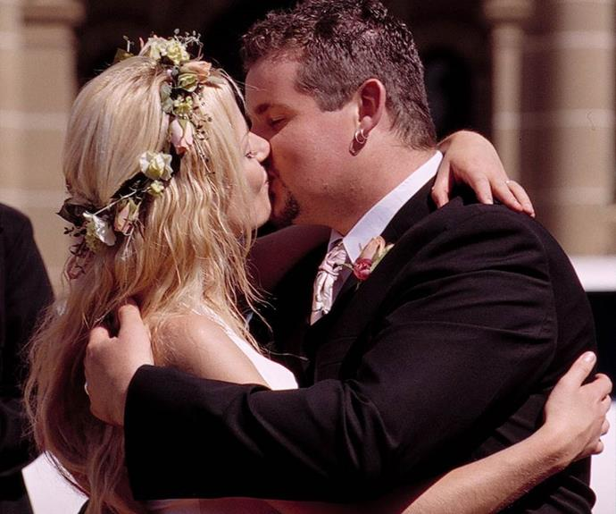 """**Toadie & Dee – Neighbours ** <br><br> *Technically* this isn't a break up, we know, but Toadie losing the love of his life, Dee, just moments after saying 'I do' will go down in Aussie TV history as one of the most dramatic storylines of all time. <br><br> We're actually convinced Toadie is simultaneously the luckiest and unluckiest-in-love TV character of all time, and you can [read why, here](https://www.nowtolove.com.au/celebrity/neighbours/neighbours-toadie-rebecchi-wives-66255